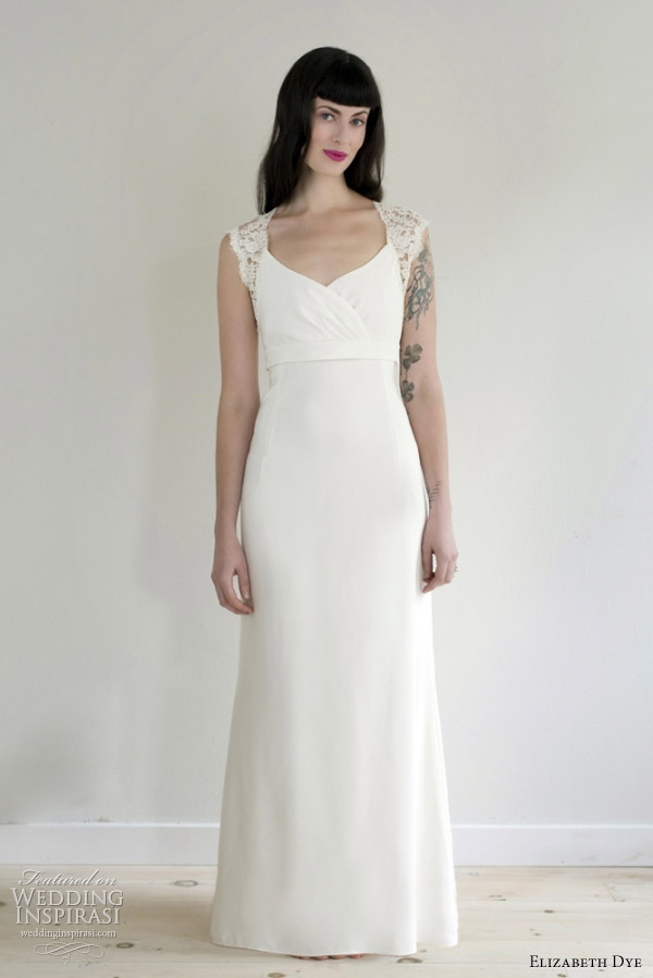 elizabeth dye 2012 spellbound wedding dress
