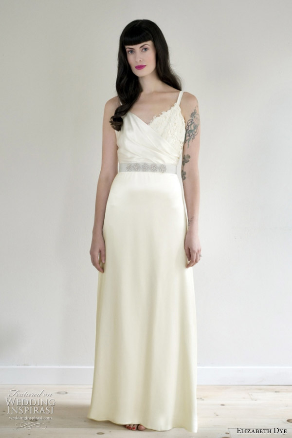 elizabeth dye 2012 topaz wedding dress