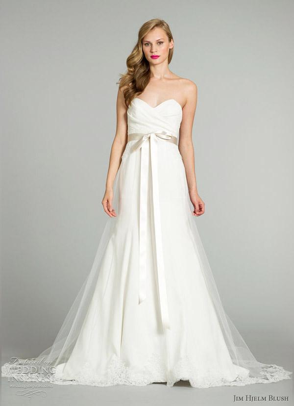 Jim Hjelm Wedding Gowns 20 Elegant jim hjelm blush fall