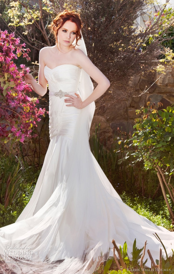 karen willis holmes bridal collection 2012