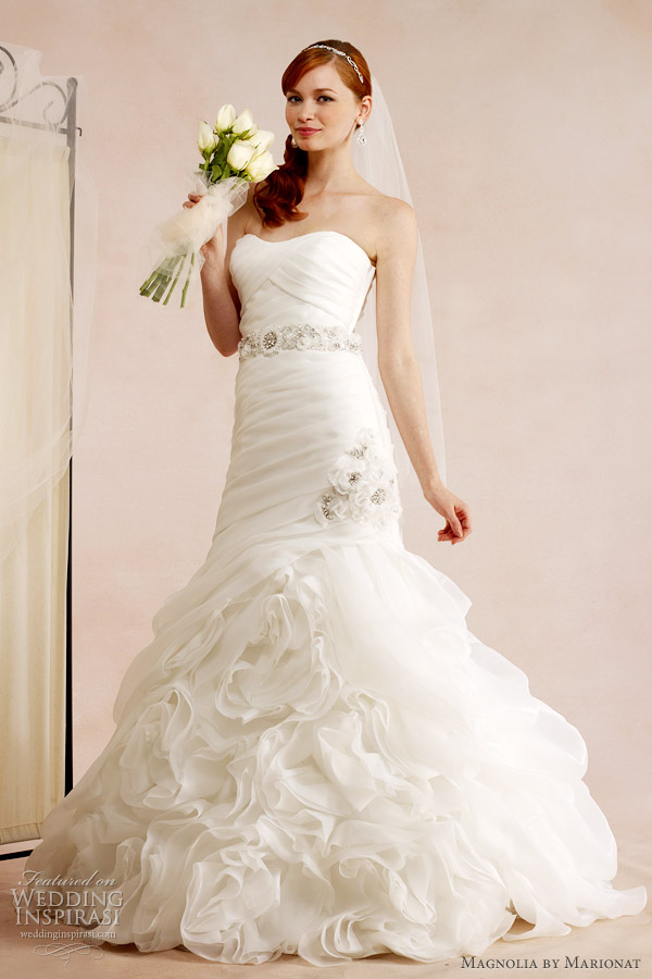 magnolia by marionat wedding dress fall 2012