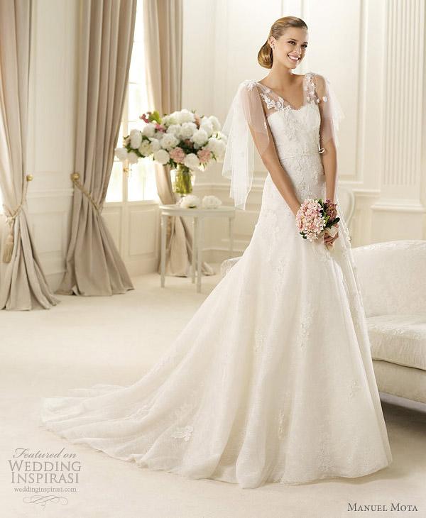 manuel mota for pronovias 2013 galaxia wedding dress