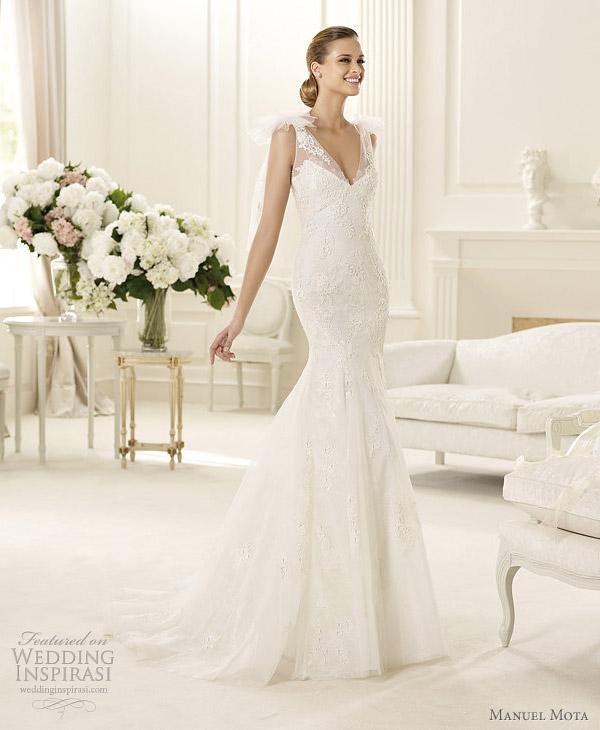 manuel mota for pronovias 2013 gambia wedding dress