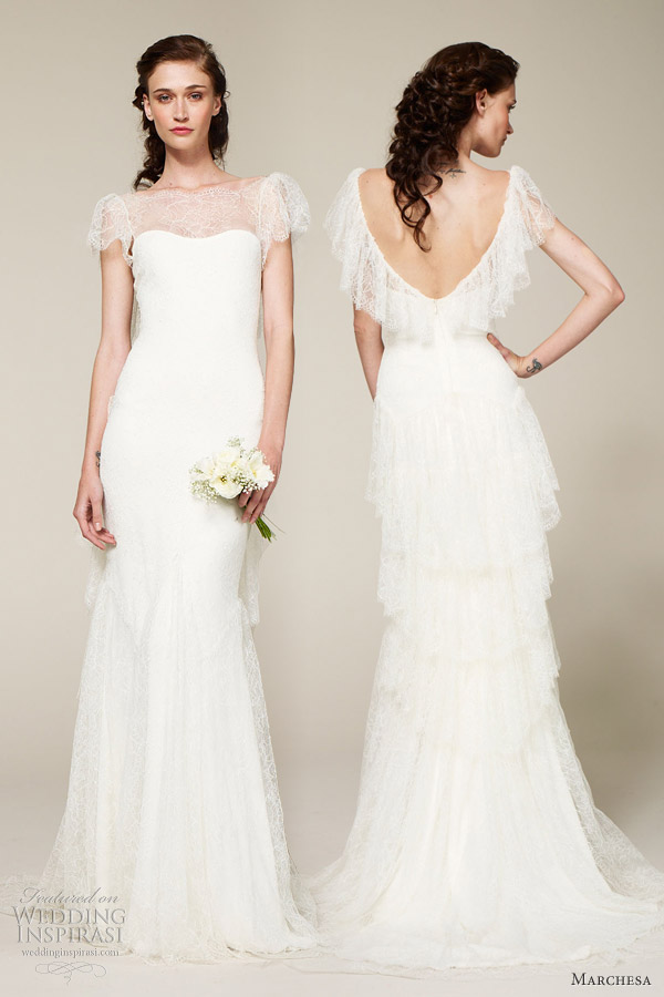 Marchesa bridal spring 2013 wedding dresses wedding for Dresses for spring wedding