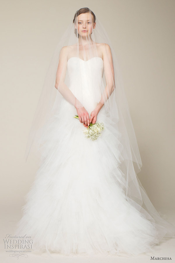 marchesa wedding dress spring 2013 bridal collection