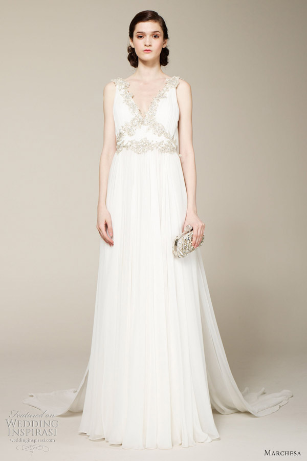 Marchesa bridal spring 2013 wedding dresses wedding for Marchesa wedding dresses prices