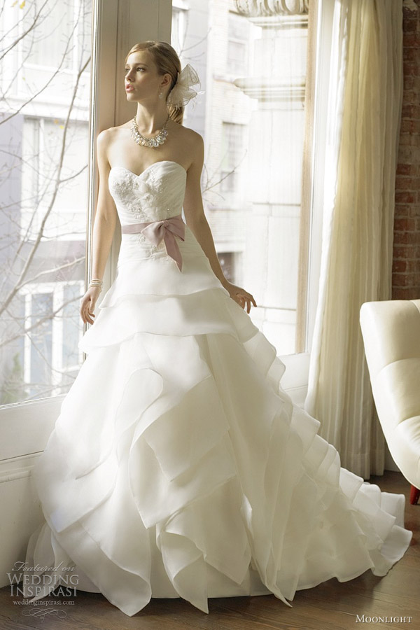 moonlight couture bridal fall 2012