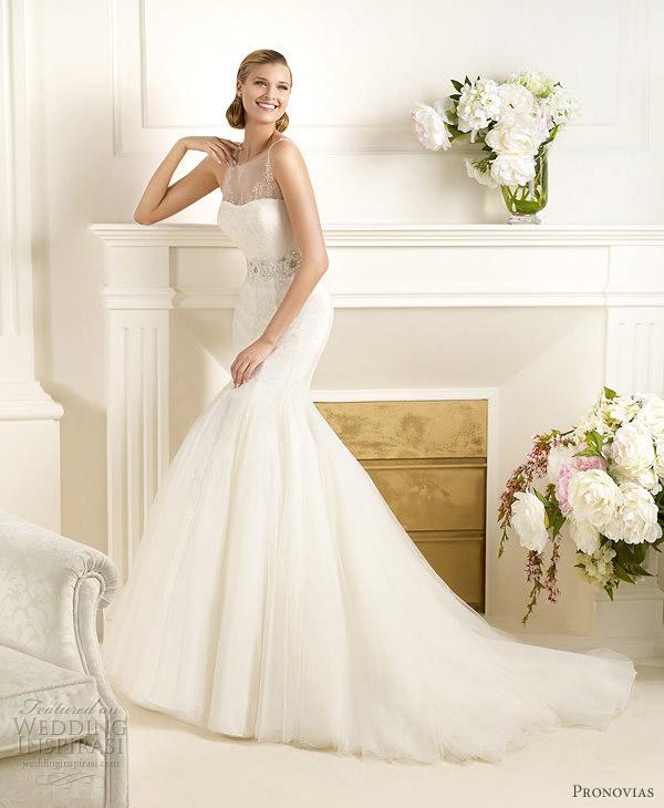 pronovias ducal wedding dress 2013