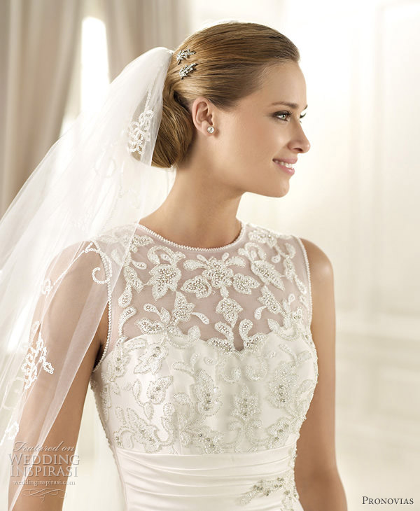 pronovias pre 2013 costura bridal collection