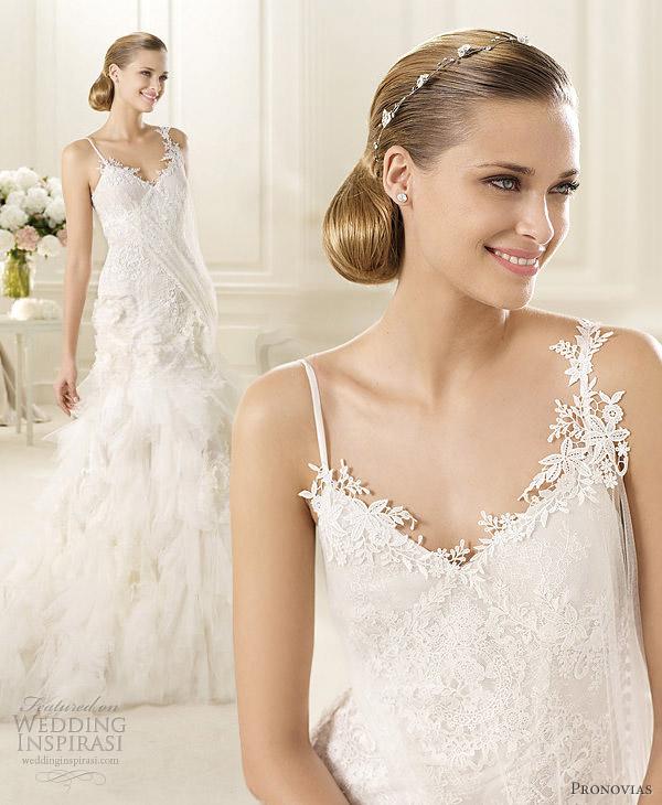 pronovias wedding dresses 2013 guinda
