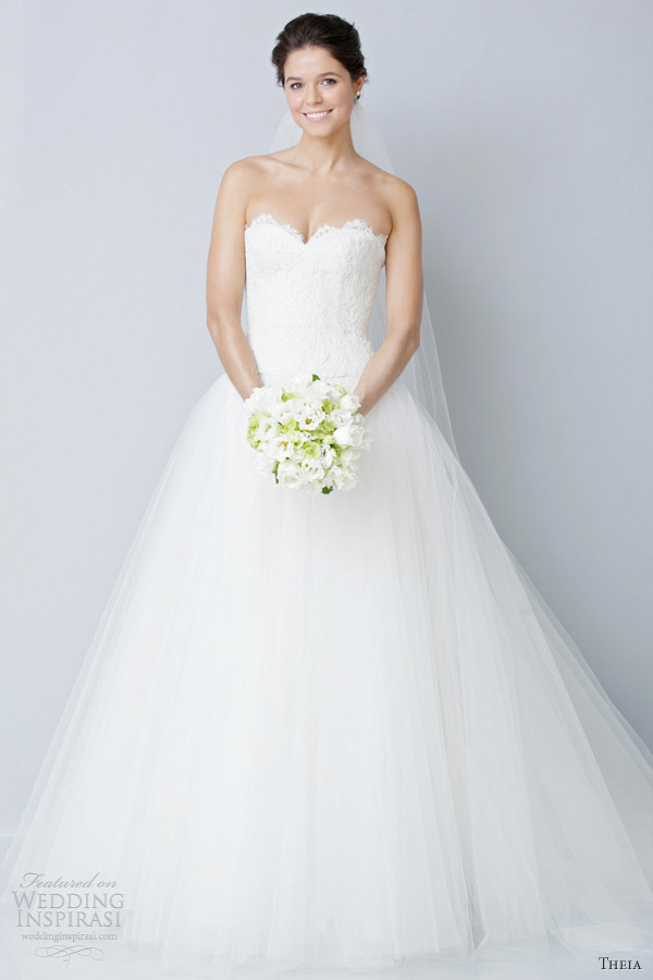 Theia wedding dresses spring 2013 wedding inspirasi for Dresses for spring wedding
