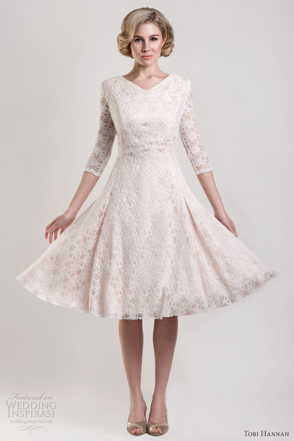 Modern Future Classics Bridal Collection Tobi Hannah Spring 2013 Dawson Blush