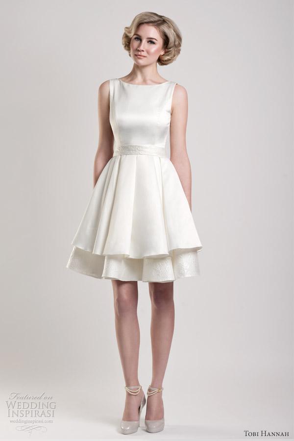 60eba4d15c9c Tobi Hannah Spring 2013 — Modern Future Classics Bridal Collection ...