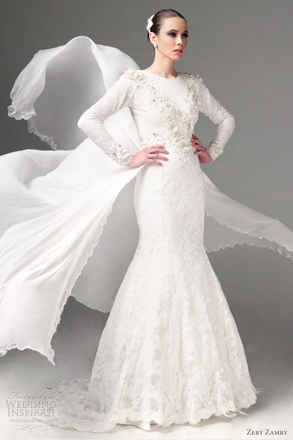 zery zamry wedding dresses 2012 bridal collection