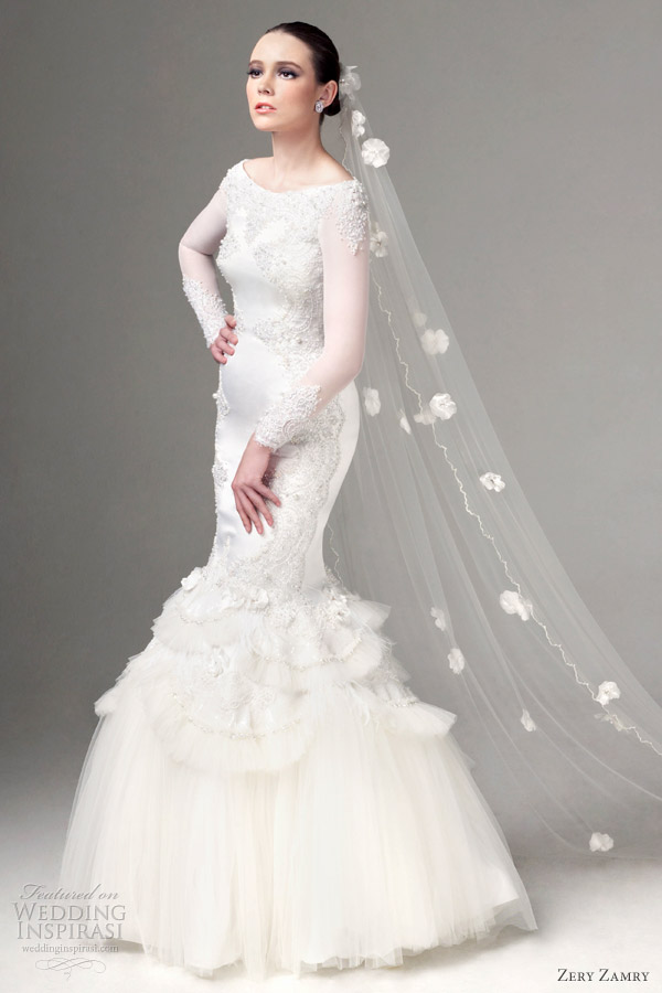 zery zamry wedding dresses 2012
