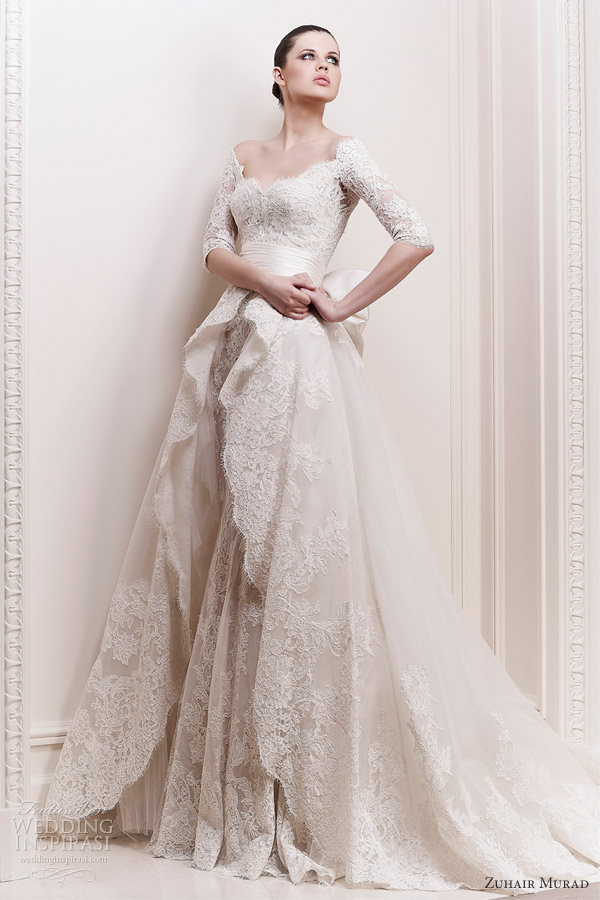 Zuhair Murad 2016 Aphrodite Wedding Dress 8