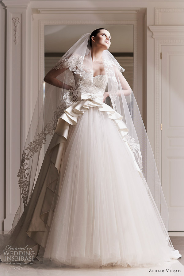 zuhair murad 2012 wedding dresses siv