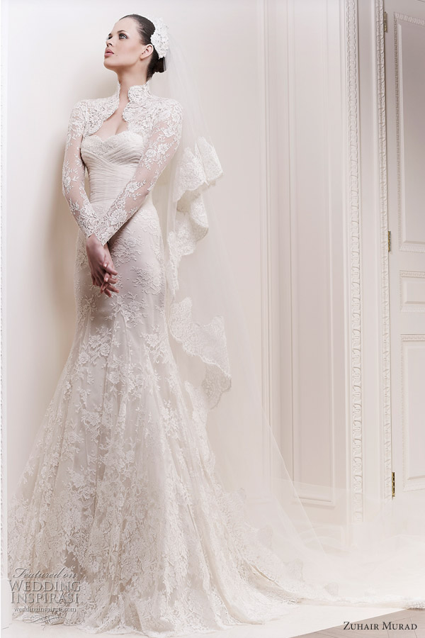 Zuhair murad wedding dresses 2012 wedding inspirasi for Zuhair murad wedding dress
