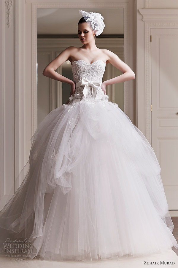 zuhair murad wedding dresses 2012 ourania