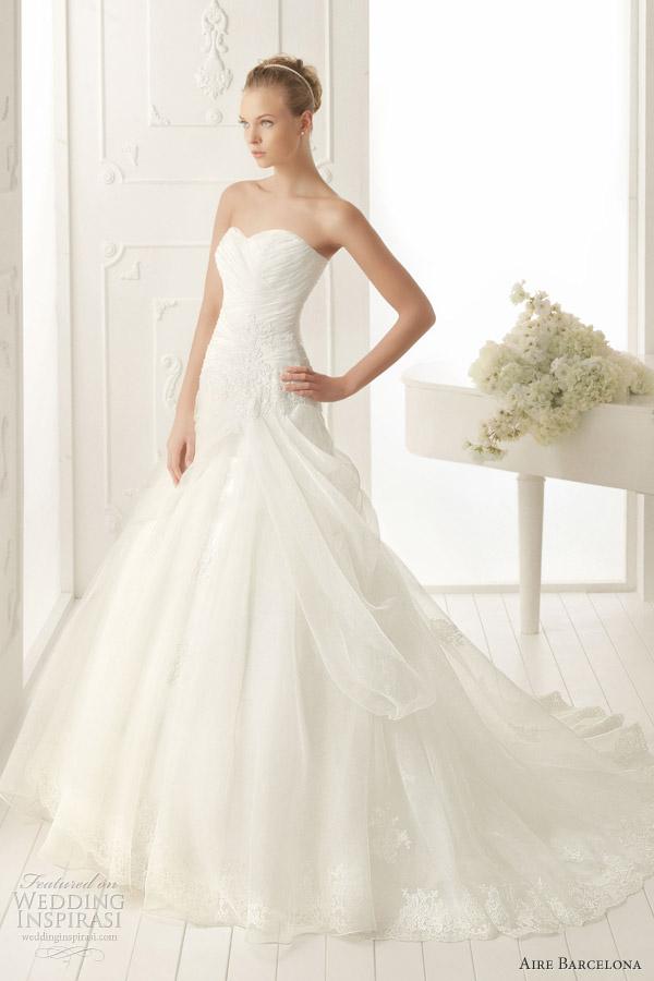 aire barcelona aire vintage vancouver wedding dress 2013