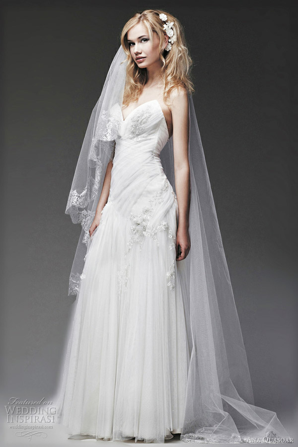 ana quasoar 2012 colombe wedding dresses