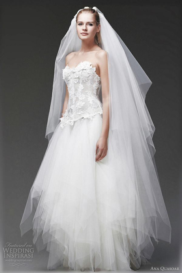 ana quasoar 2012 gemme wedding dresses