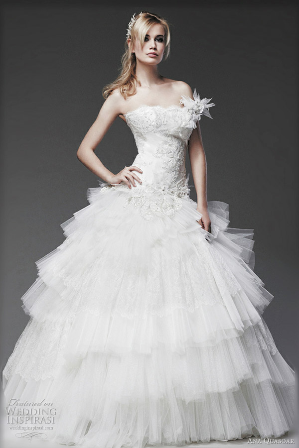 ana quasoar wedding dresses 2012 celeste