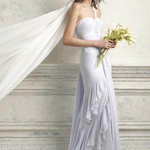 bhldn blue wedding dress bridal 2012 crashing waves gown