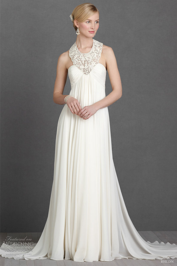 Anna Sui Wedding Dresses Aiguille cream gown by Anna