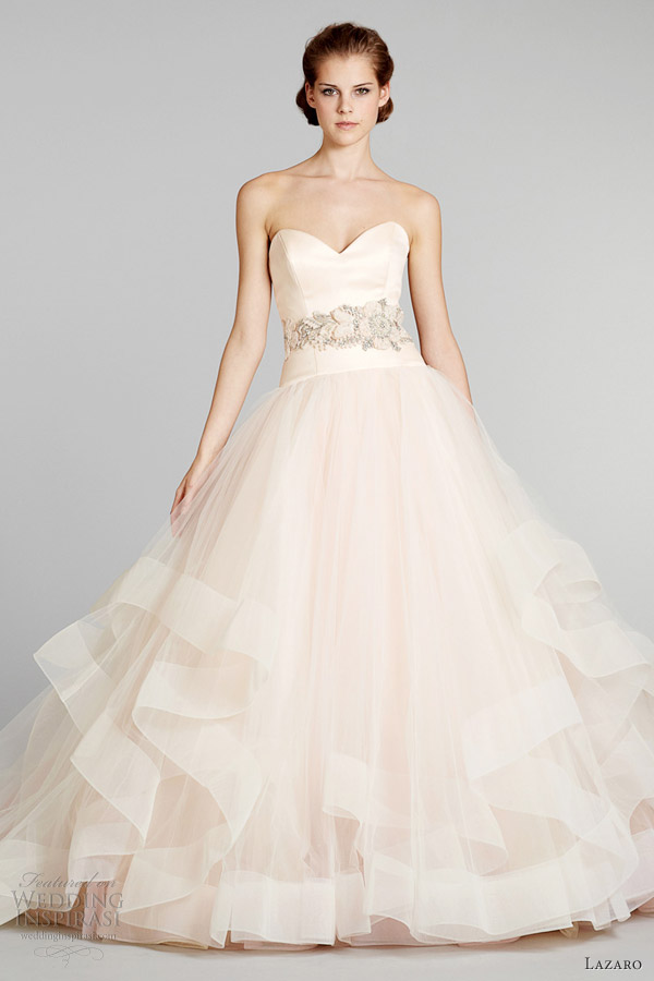 Lazaro Fall 2012 Wedding Dresses | Wedding Inspirasi | Page 4