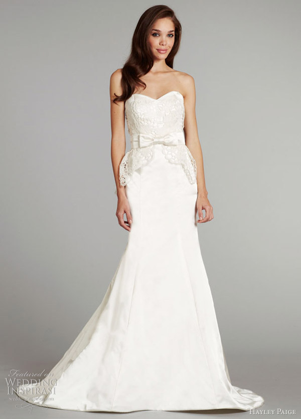 hayley paige fall 2012 bridal collection