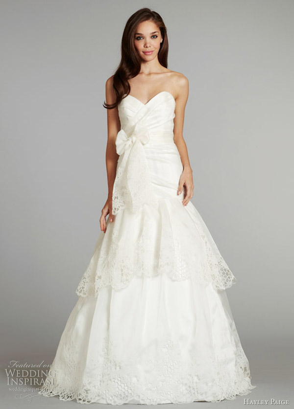 hayley paige fall 2012 savannah wedding gown