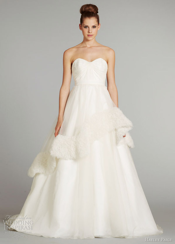 hayley paige wedding dresses fall 2012 bijou