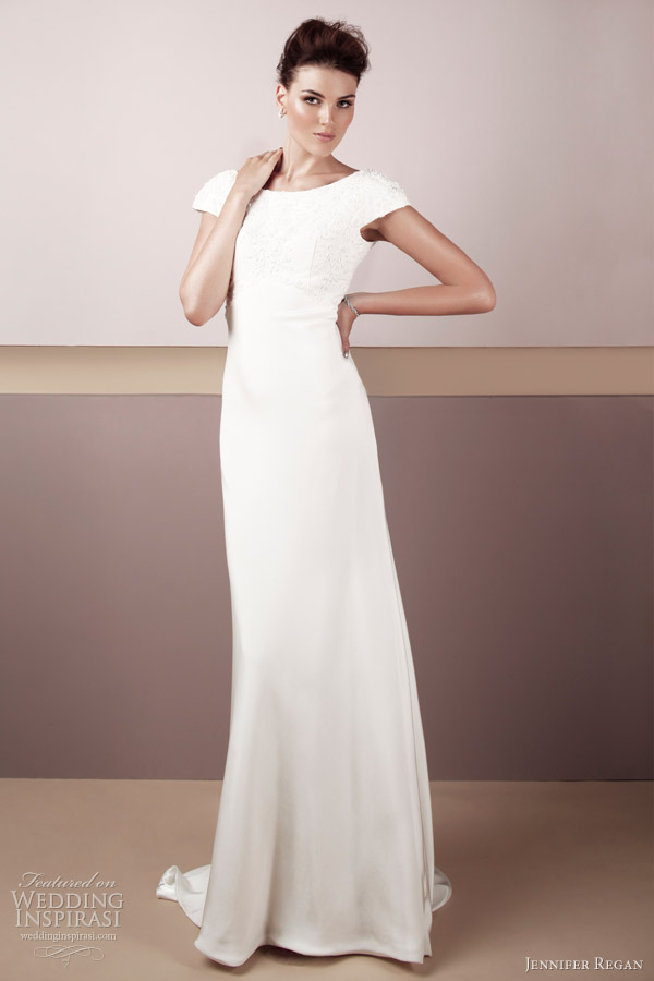 jennifer regan bridal 2012 eva wedding dress