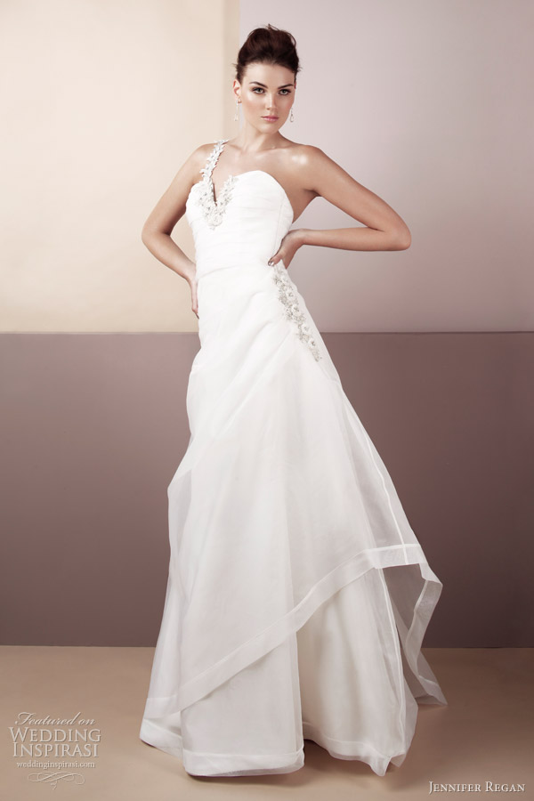 jennifer regan bridal 2012 lauren wedding dress