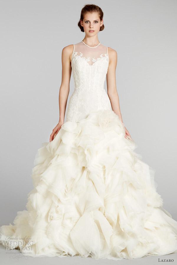 Lazaro Fall 2012 Wedding Dresses   Wedding Inspirasi   Page 4