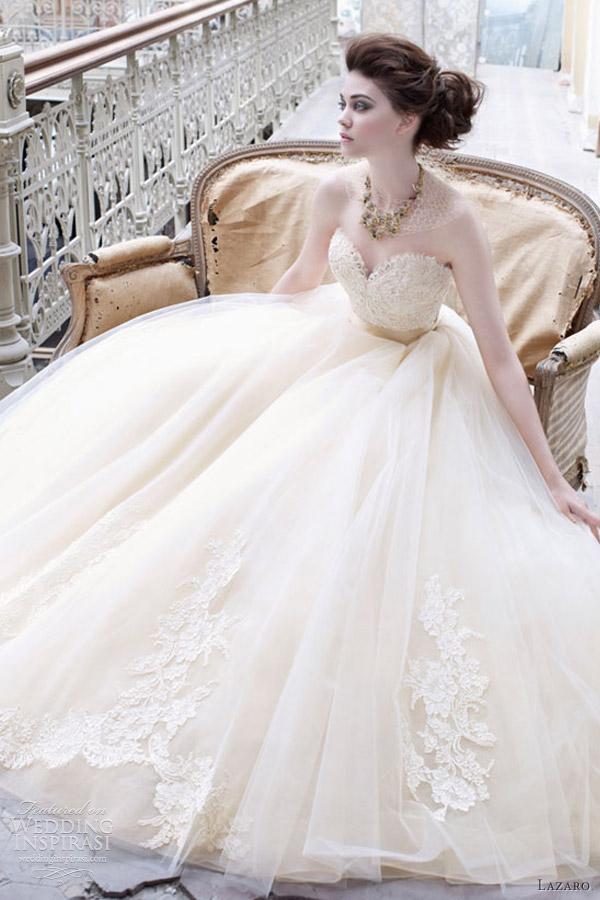 lazaro fall 2012 wedding dresses wedding inspirasi page 2. Black Bedroom Furniture Sets. Home Design Ideas