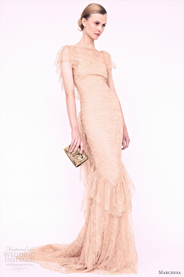 marchesa resort 2013 vintage lace dress