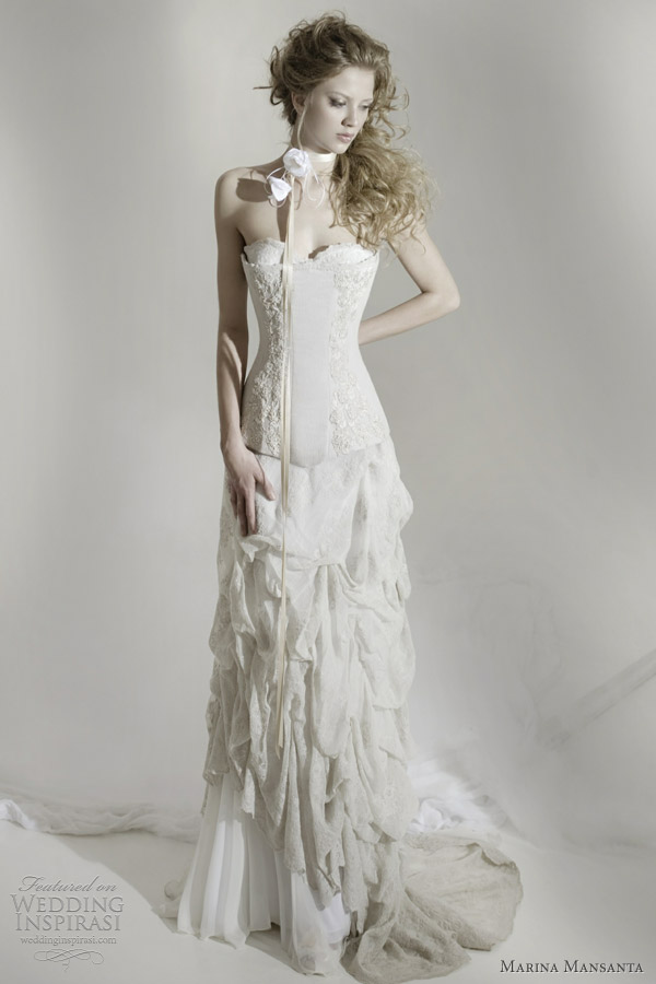 marina mansanta nesea wedding dress
