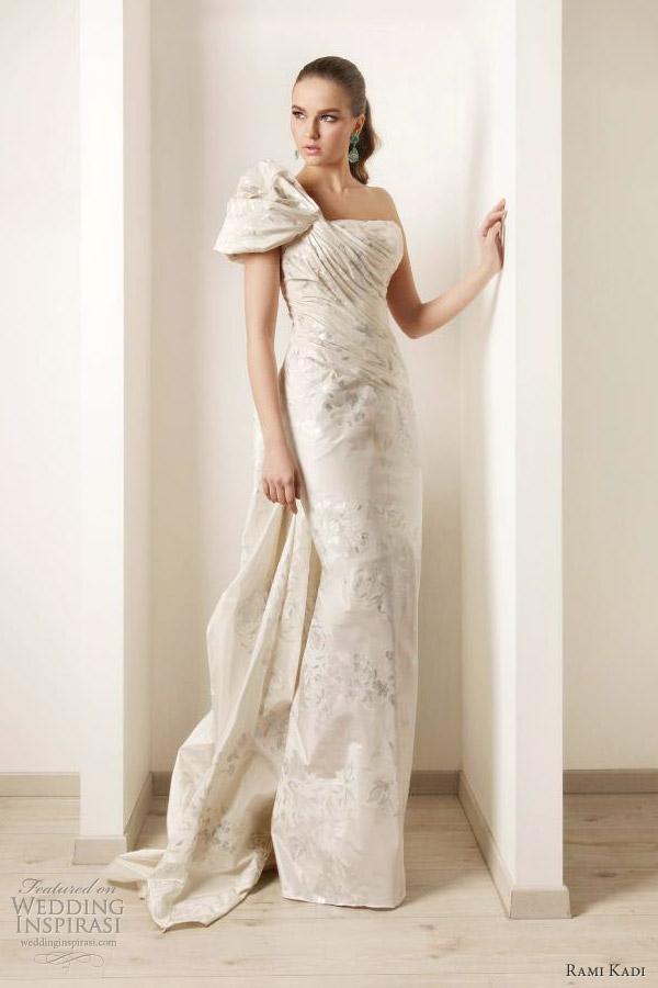Hand Painted Silk Dresses Rami Kadi Hand Painted Silk