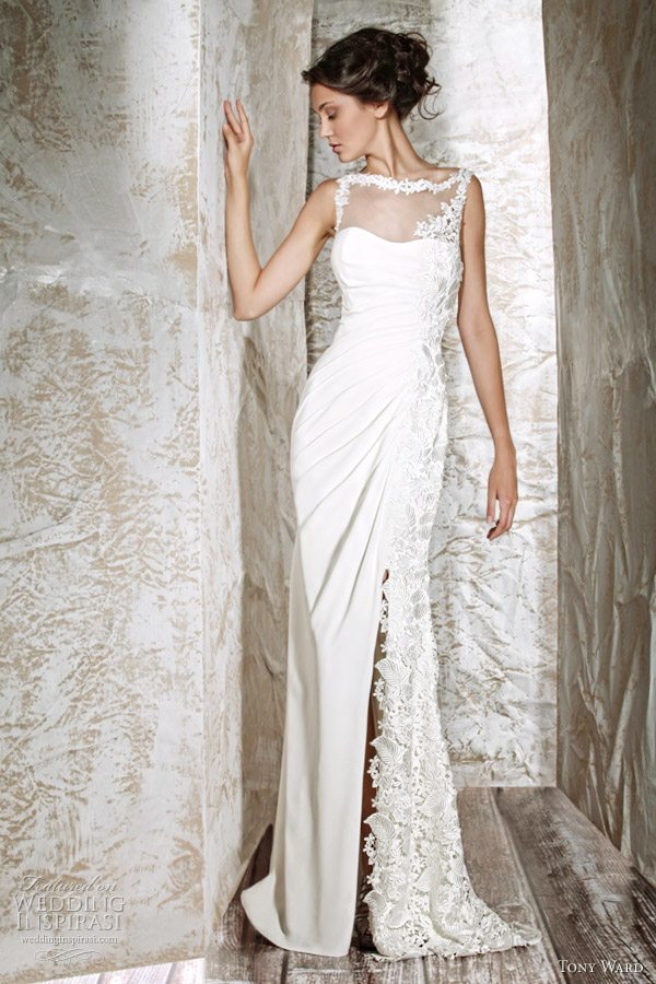 tony ward 2012 aimee wedding dress