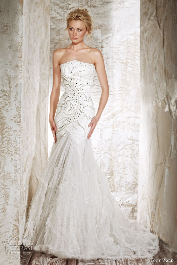 tony ward 2012 bridal hyacinthe wedding dress
