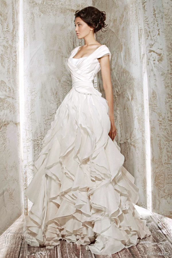 tony ward bridal 2012 wedding dress