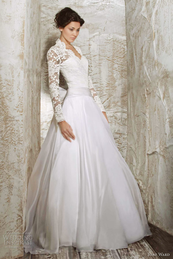 tony ward wedding dress 2012 fee des marees