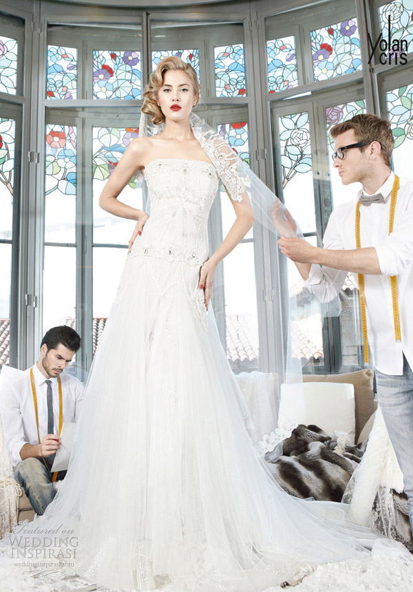 yolan cris couture bridal 2013 indonesia wedding dress