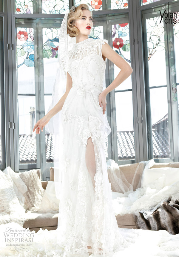 yolan cris couture bridal 2013 phuket wedding dress