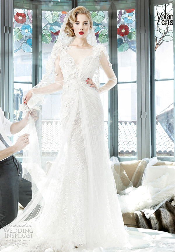 yolancris 2013 couture bangladesh wedding dress