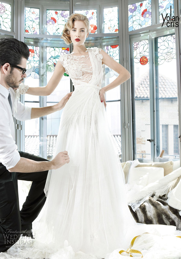 yolancris 2013 couture couture bridal seychelles wedding dress