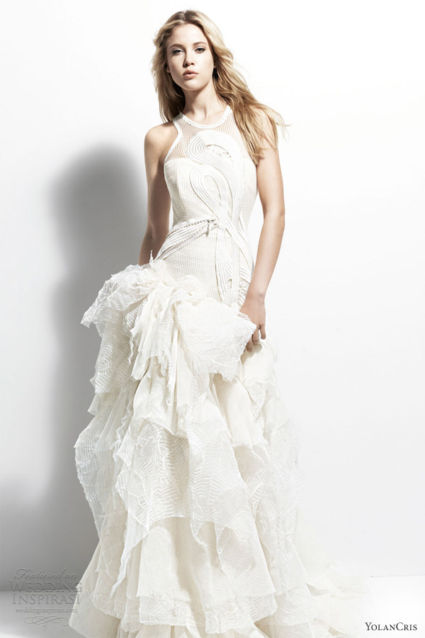 yolancris wedding dresses 2013 chelsea girl belgica gown