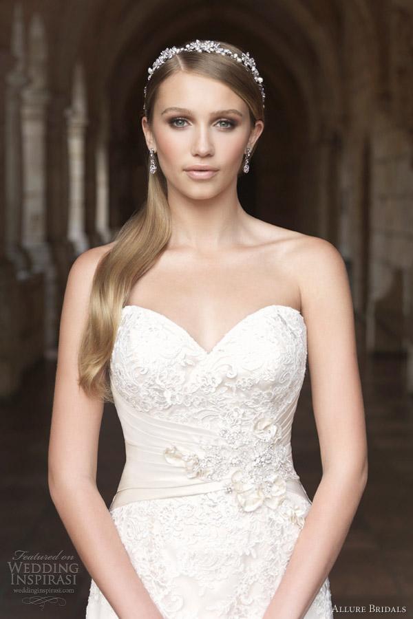 Wedding dresses allure 2012